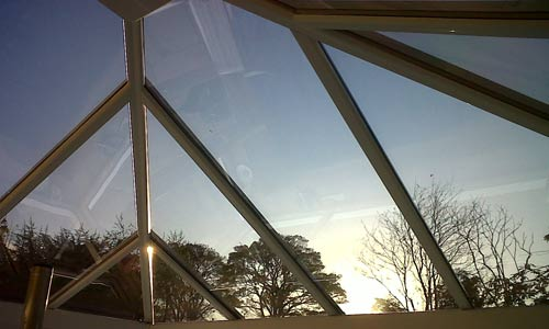 Conservatory roof film