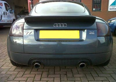 Audi TT rear light tint