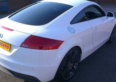 Audi TT rear window film