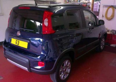 Fiat Panda dark windows