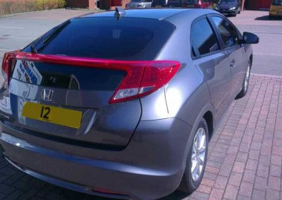 Honda Civic Rear Windows tinted