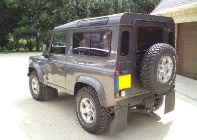 Land Rover windows