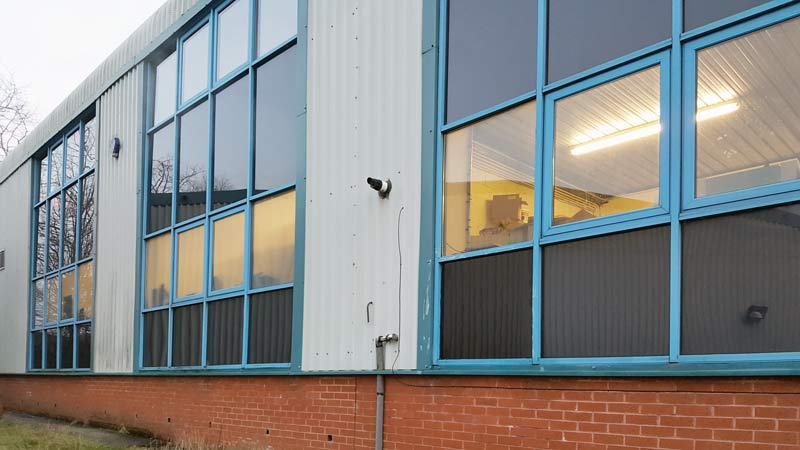 Commercial Opaque Window Film