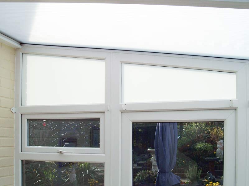 Opaque Film for Conservatories