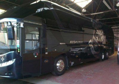 Southampton FC Luxury Coach windows