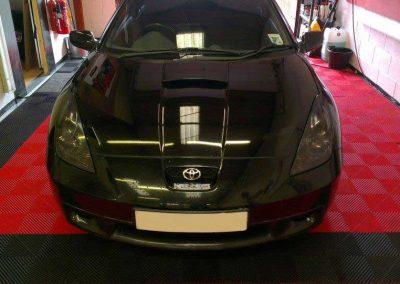 Toyota Celica headlight tint