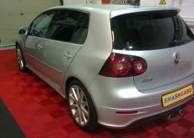 VW R32 Rear windows