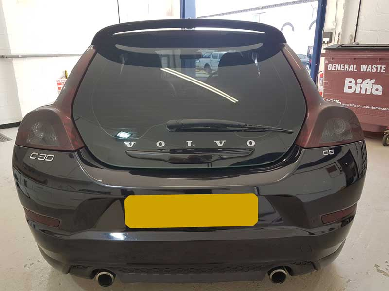 Volvo C30 Rear Lights tinted